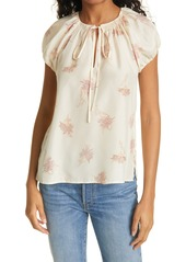 Rebecca Taylor Nora Floral Blouse