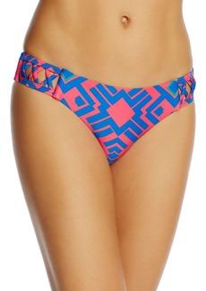 Red Carter Cutout Hipster Bikini Bottom - 100% Exclusive