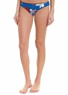 Red Carter Women's Coordinating Seperates Bathing Swim Suit Reversible Bottom/plumier M