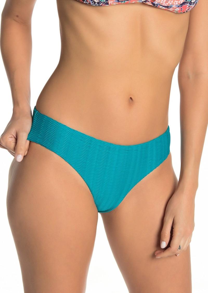 29af398770 SALE! Red Carter Textured Hipster Bikini Bottoms