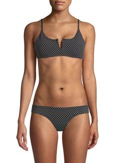 Red Carter V-Wire Bikini Top