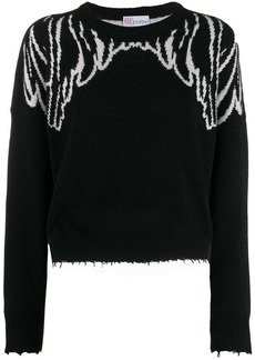 RED Valentino Spread your wings sweater