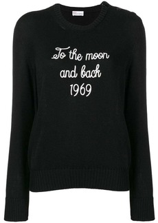 RED Valentino 1969 embroidery jumper