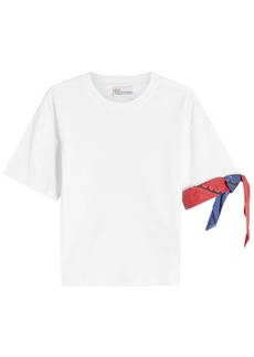 RED Valentino Bandana Cotton T-Shirt