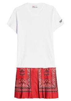 RED Valentino Bandana T-Shirt Dress