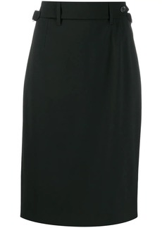 RED Valentino belted pencil skirt