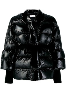 RED Valentino belted puffer jacket