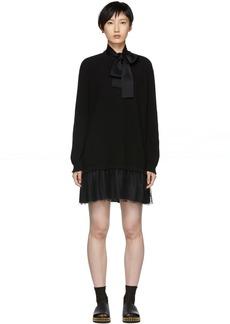 RED Valentino Black Tulle Underlay Dress