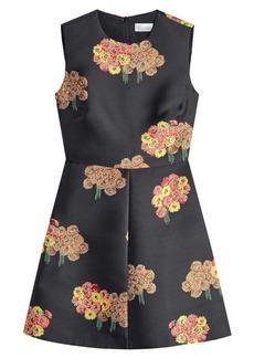 RED Valentino Bouquet Print Mini Dress