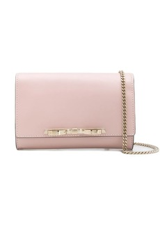 RED Valentino bow-detail clutch