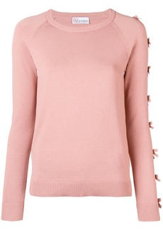 RED Valentino bow-detail sweater