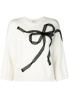 RED Valentino bow knit jumper