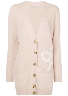 RED Valentino bow mid-length cardigan