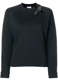 RED Valentino buckle detail sweatshirt