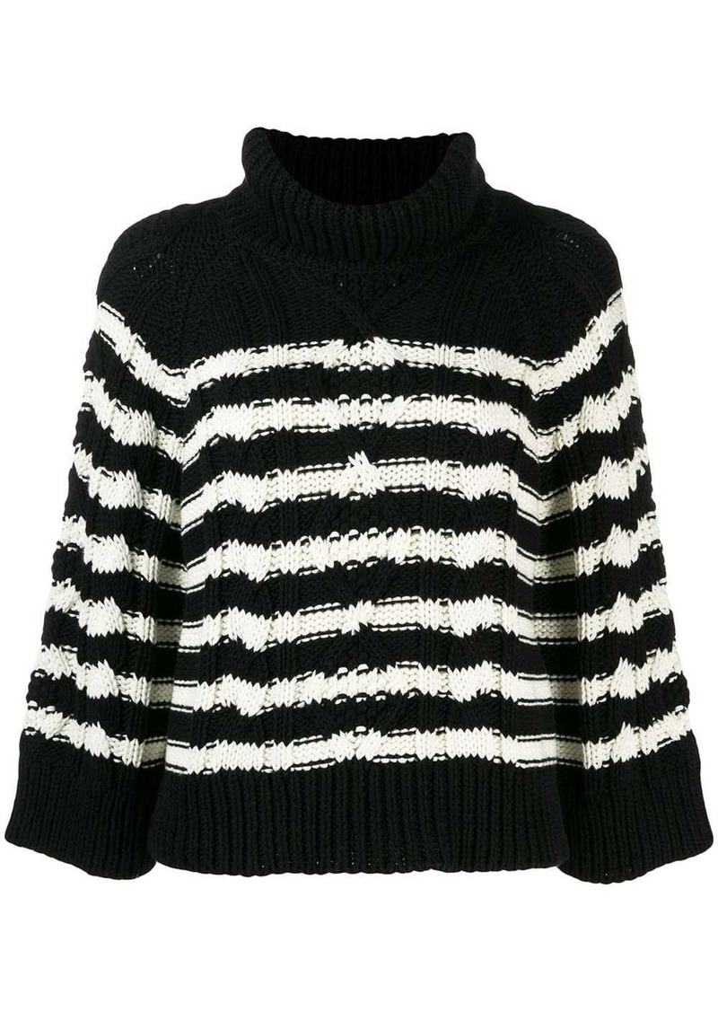 RED Valentino cable knit jumper