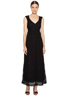 RED Valentino Cotton Lace Jersey Dress