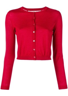 RED Valentino crew neck knit cardigan