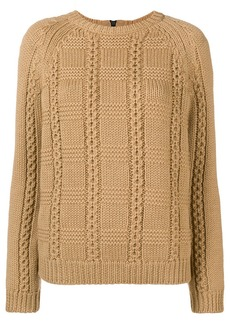 RED Valentino crew neck knit sweater