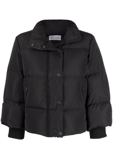 RED Valentino cropped quilted padded jacket