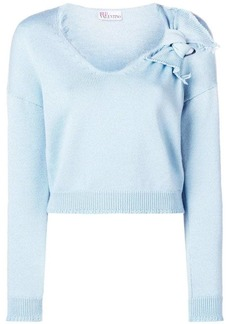 RED Valentino cropped sweater