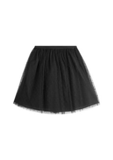 RED Valentino Dotted Tulle Mini-Skirt