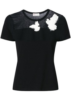 RED Valentino dove embroidered T-shirt