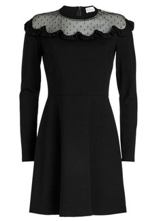 RED Valentino Dress with Point d'esprit