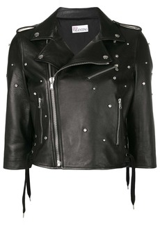 RED Valentino embellished biker jacket