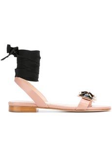 RED Valentino embellished bug detail sandals