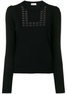 RED Valentino embellished jumper