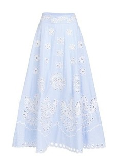 RED Valentino Embroidery detailed skirt