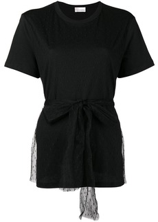 RED Valentino emphasized waist blouse