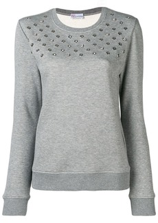 RED Valentino eyelet detail sweater
