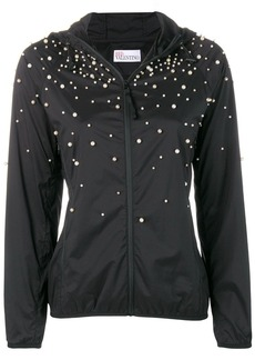 RED Valentino faux-pearl embellished jacket