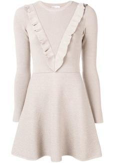 RED Valentino fit-and-flare knit dress