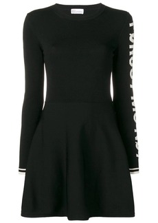 RED Valentino flared mini dress
