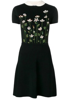 RED Valentino floral knit dress