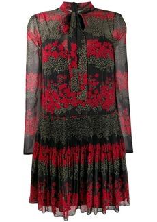 RED Valentino floral print mini dress