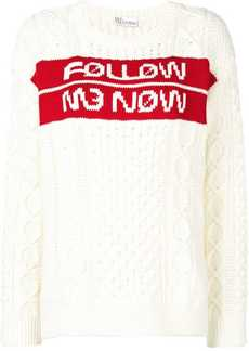 RED Valentino Follow Me Now jacquard jumper