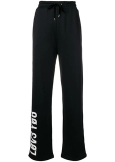 RED Valentino Forget Me Not printed track pants