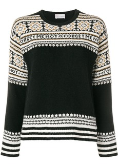 RED Valentino Forget Me Not sweater