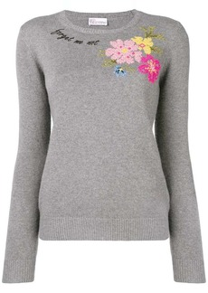 "RED Valentino ""Forget Me Not' sweater"