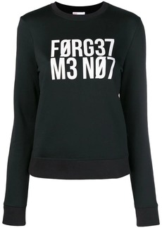 "RED Valentino ""Forget Me Not"" sweatshirt"