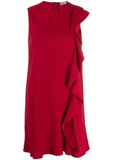 RED Valentino frilled sleeveless dress