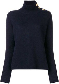 RED Valentino funnel neck jumper