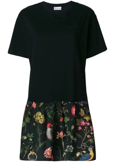 RED Valentino gathered skirt T-shirt dress