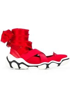 RED Valentino Glam Run ballerina shoes