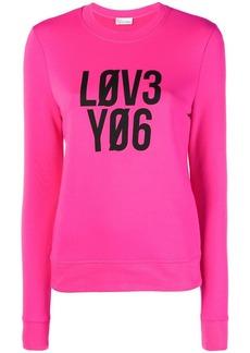 RED Valentino graphic print sweatshirt