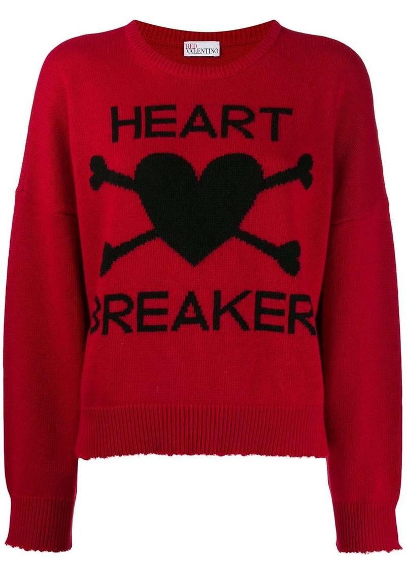 RED Valentino 'Heart Breaker' jumper