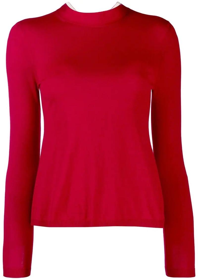 RED Valentino high neck jumper